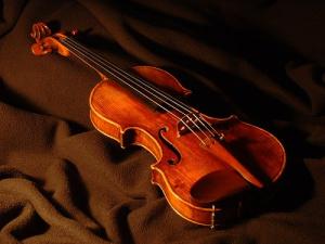 My violin: Carlo Antonio, Testore, MIlan, 1938. Photo by pellacea. Creative Commons.